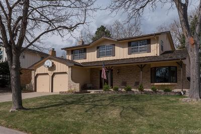Aurora Single Family Home Active: 1727 South Nile Court