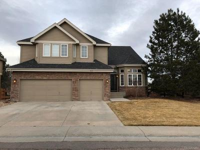 Castle Pines CO Single Family Home Under Contract: $749,900