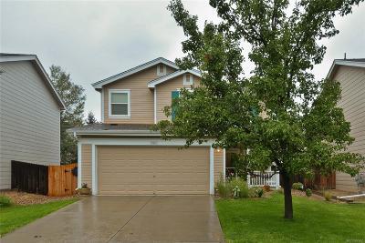 Longmont Single Family Home Under Contract: 10663 Durango Place