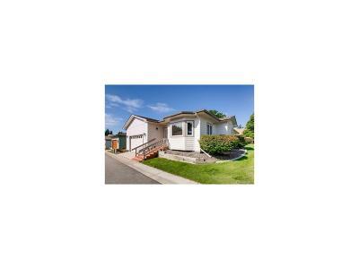Broomfield Single Family Home Under Contract: 33 Sandra Lane