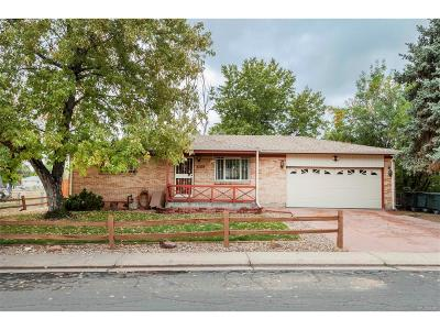 Northglenn Single Family Home Under Contract: 2090 Phillips Drive