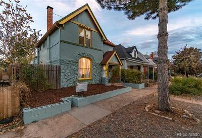 Denver Single Family Home Active: 450 Delaware Street