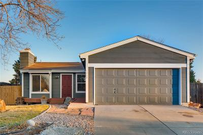 Denver Single Family Home Active: 4852 South Hoyt Street