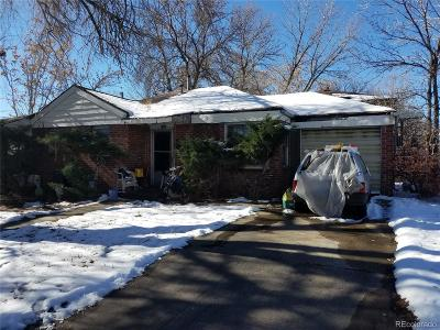 Denver Single Family Home Active: 2535 Osceola Street