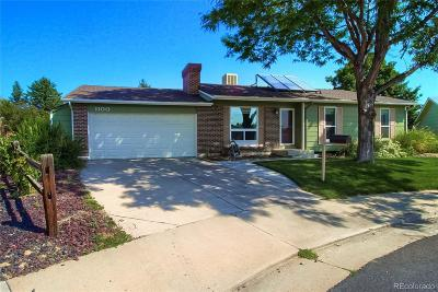 Broomfield Single Family Home Active: 1100 Lilac Circle