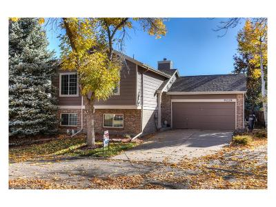Highlands Ranch Single Family Home Under Contract: 9228 Butterwood Court