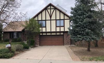 Aurora Single Family Home Under Contract: 12599 East Cedar Avenue