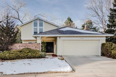 Centennial CO Single Family Home Under Contract: $539,000