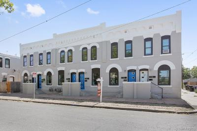 Condo/Townhouse Under Contract: 1724 East 36th Avenue