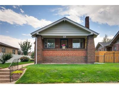 Denver Single Family Home Active: 2950 West 39th Avenue
