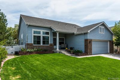 Centennial Single Family Home Under Contract: 6222 South Jericho Way