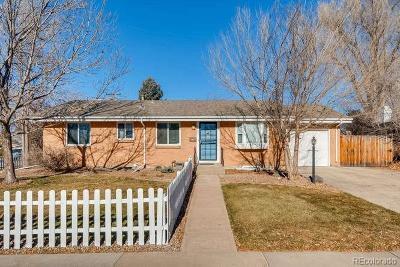 Arapahoe County Single Family Home Active: 801 East Applewood Avenue
