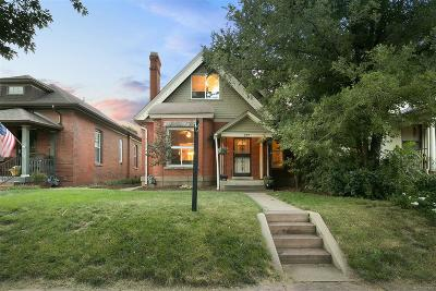 Denver Single Family Home Under Contract: 577 South Grant Street