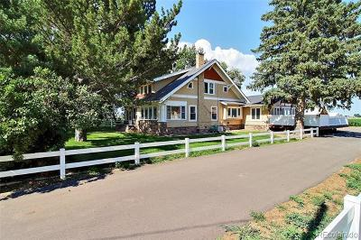 Greeley Single Family Home Active: 31386 County Road 51