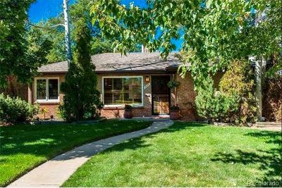 Denver Single Family Home Active: 1065 South Monroe Street