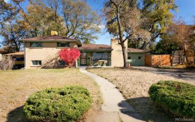 Wheat Ridge Single Family Home Under Contract: 4420 Brentwood Street