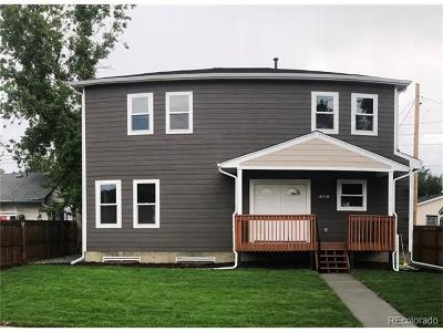 Denver Single Family Home Active: 4810 North Chase Street