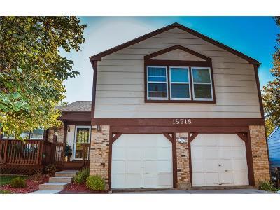 Aurora Single Family Home Active: 15918 East Kepner Drive