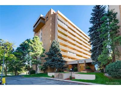 Denver Condo/Townhouse Active: 8060 East Girard Avenue #108