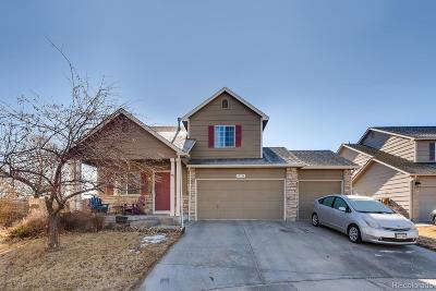 Commerce City Single Family Home Under Contract: 10796 East 112th Place