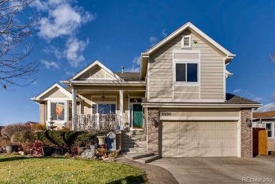 Centennial Single Family Home Under Contract: 5892 South Quatar Circle