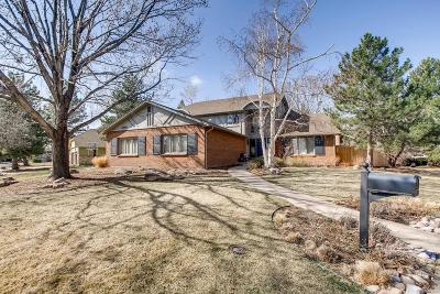 Littleton Single Family Home Under Contract: 4256 West Lake Circle