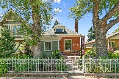Denver Single Family Home Active: 1665 South Pearl Street