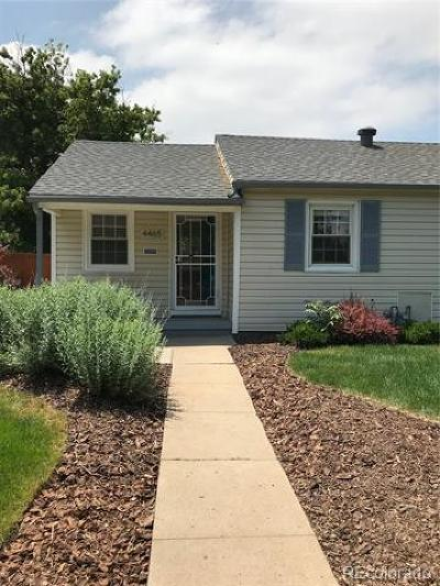 Denver Single Family Home Active: 4465 Tejon Street
