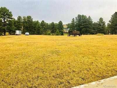Parker Residential Lots & Land Active: 12501 North Pine Cone Road