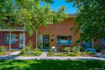 Denver Condo/Townhouse Under Contract: 9109 East Mansfield Avenue