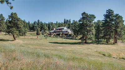 Conifer, Evergreen Single Family Home Active: 5178 South Elk Ridge Road