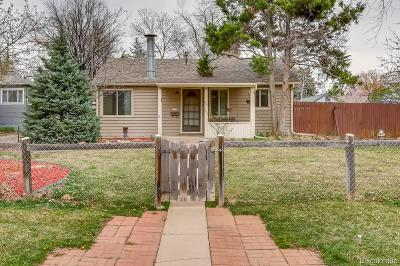 Littleton Single Family Home Active: 5584 South Datura Street