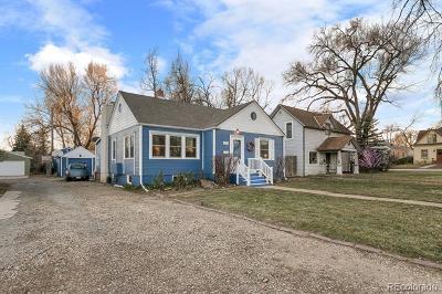 Longmont Single Family Home Active: 1317 Longs Peak Avenue