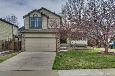 Castle Rock Single Family Home Under Contract: 5102 Devon Avenue
