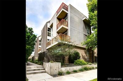 Denver Condo/Townhouse Active: 37 South Ogden Street