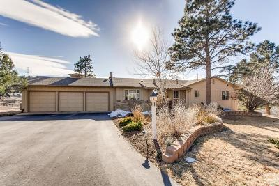 Castle Rock Single Family Home Under Contract: 5133 North Lariat Drive