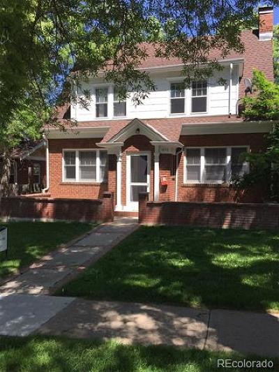 Boulder Single Family Home Active: 1070 11th Street