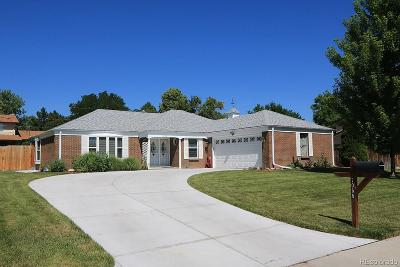 Littleton Single Family Home Active: 7055 South Kendall Boulevard