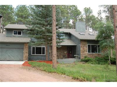 Monument Single Family Home Active: 19645 Salt Lick Way