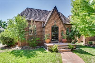 Denver Single Family Home Under Contract: 1021 South Steele Street