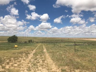 Arapahoe County Residential Lots & Land Active: 87297 East County Road 34