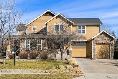 Broomfield Single Family Home Active: 14034 Park Cove Drive