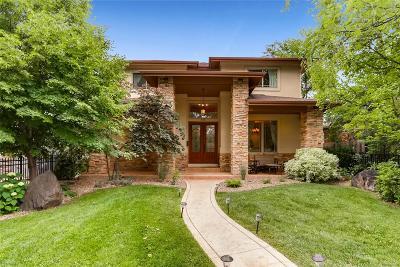 Denver Single Family Home Active: 2319 South Josephine Street