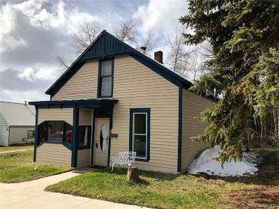 Leadville Single Family Home Under Contract: 210 West 4th Street