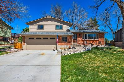 Littleton Single Family Home Under Contract: 8513 West Rice Avenue