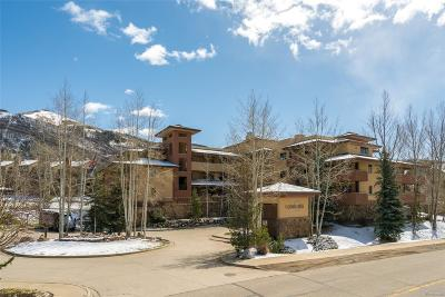Steamboat Springs Condo/Townhouse Active: 2780 Eagleridge Drive #B 302