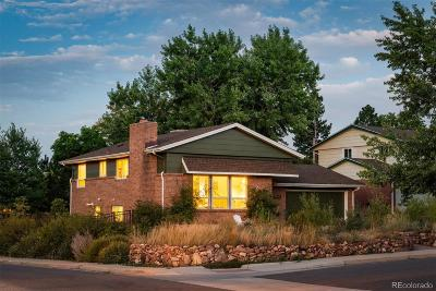 Boulder CO Single Family Home Active: $885,000