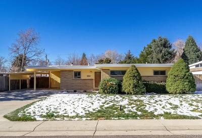 Arvada Single Family Home Active: 6125 Dover Street