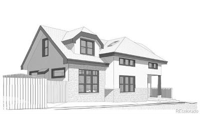 Denver Residential Lots & Land Active: 2165 West 39th Avenue