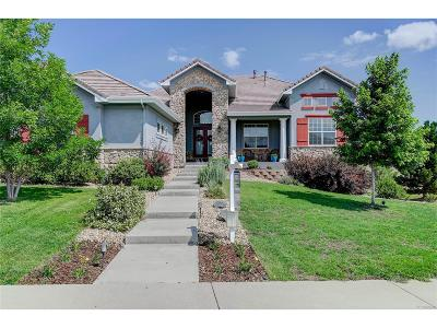 Castle Rock Single Family Home Under Contract: 1335 Cinnabar Drive